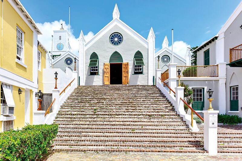 セント・ピーター教会 バミューダ諸島