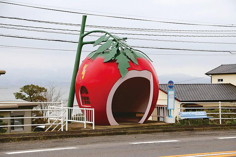 トマトバス停