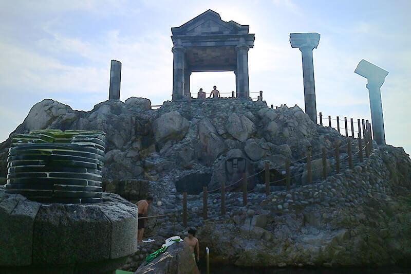湯の浜露天温泉(外観)