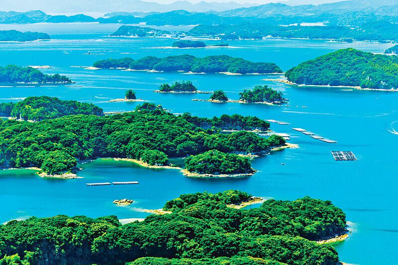 九十九島 石岳展望台からの眺め