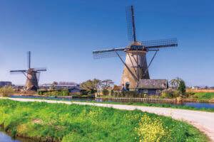 キンデルダイク=エルスハウトの風車網