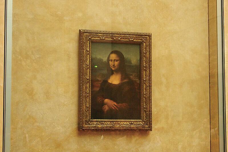 ルーブル美術館 モナ・リザ