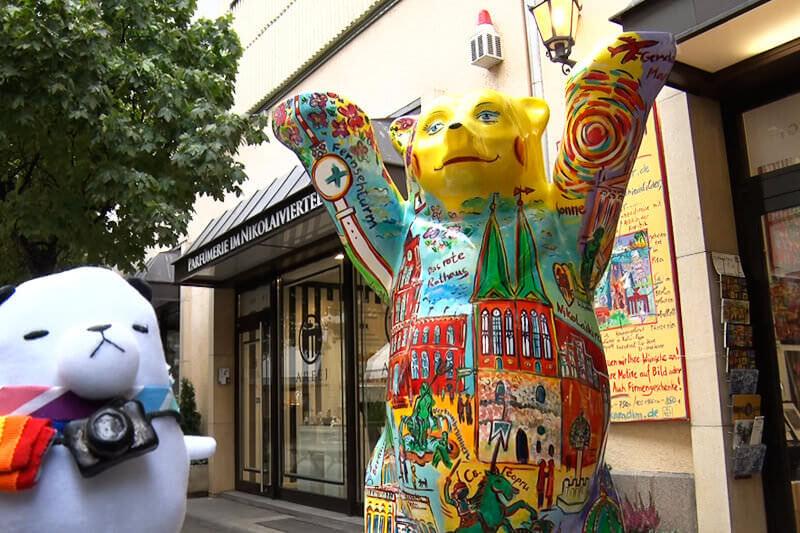 ジーンちゃんはドイツのベルリンへ!並んででも食べたい屋台グルメをご紹介&受け継がれる日本の味も?!