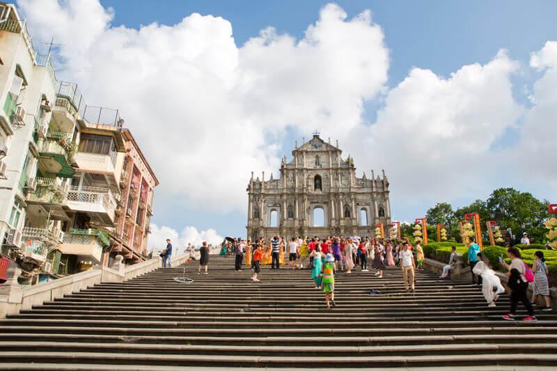 マカオの歴史的シンボル!世界遺産「聖ポール天主堂跡」の美しさは一見の価値あり!