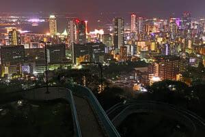 神戸・ビーナスブリッジ(夜景)