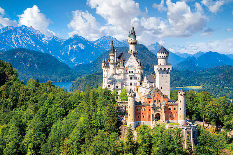 観光客が選ぶ、ヨーロッパの歴史ある国・ドイツの観光スポットBEST3!!