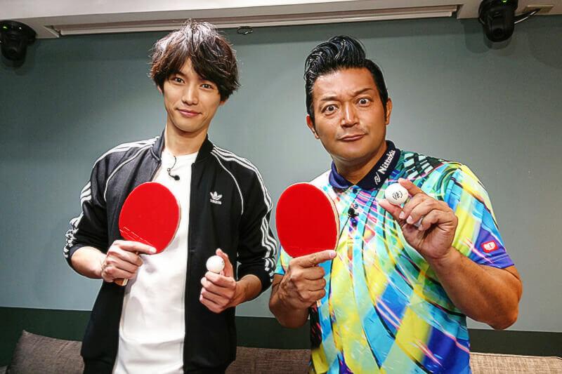 ブーム到来!福士蒼汰が日本初の卓球エンタメスポットでオリジナルラケットづくり&卓球レッスン!