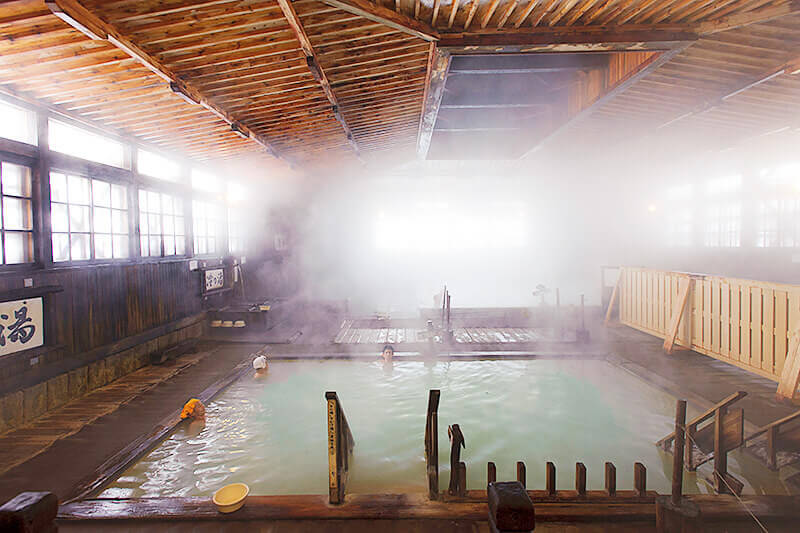 酸ヶ湯温泉の千人風呂