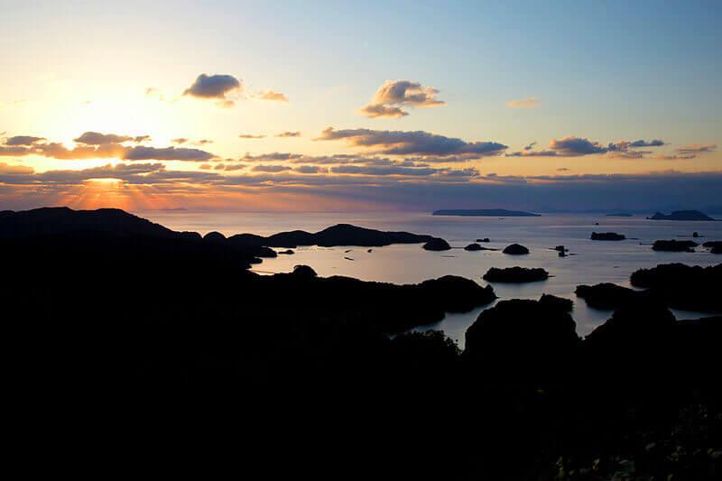 九十九島 展海峰