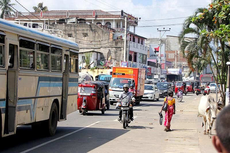 スリランカ 街並み