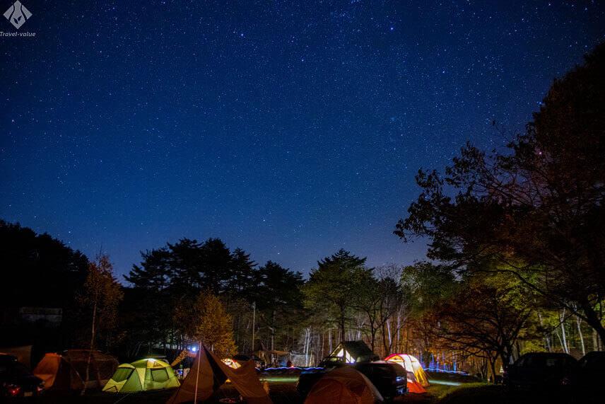 阿智村 星空キャンプ