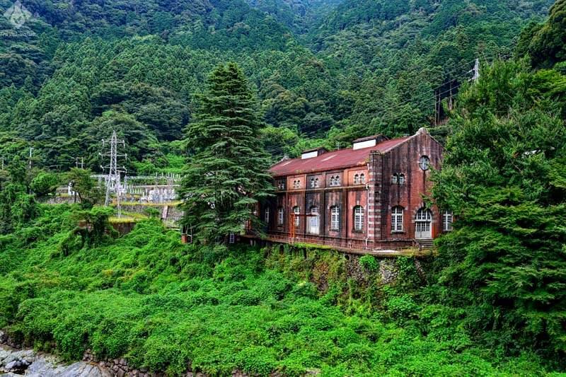 別子銅山 旧水力発電所(端出場ゾーン)