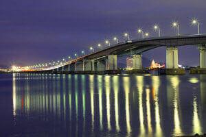 琵琶湖大橋リフレクション