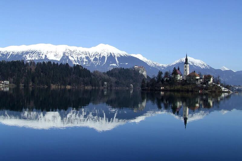 天空の鏡 ブレッド湖
