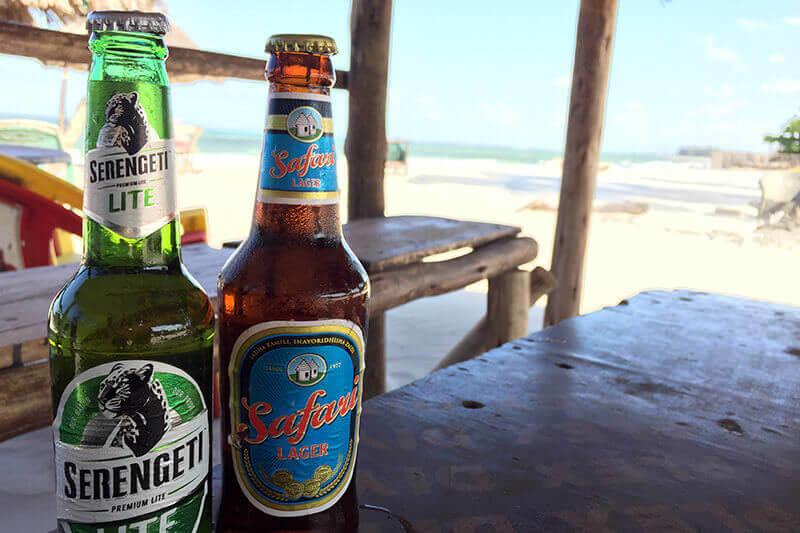 タンザニアのビール