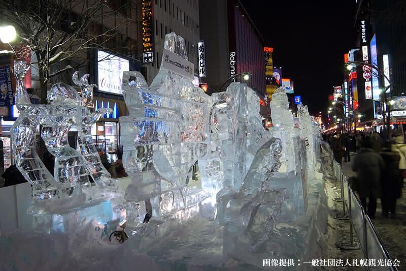 さっぽろ雪まつり すすきの会場(イメージ)