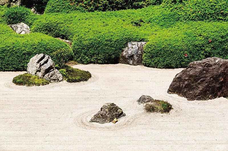 鎌倉明月院 枯山水庭園