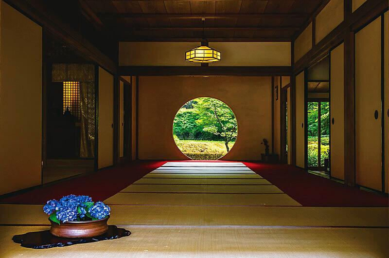 鎌倉明月院 悟りの窓