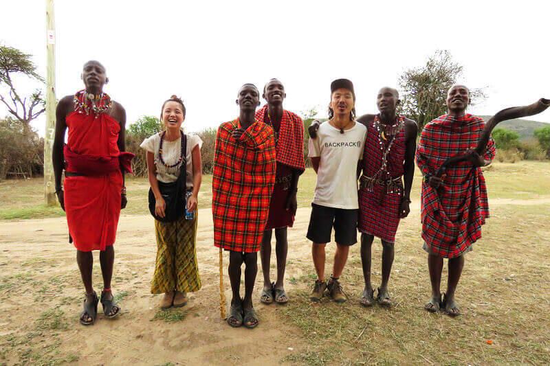ケニアで美味しい日本食が食べられる?!そして野生動物王国のケニアで念願のサファリに行ってきました!!
