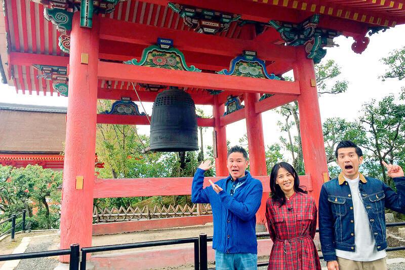 井森美幸と世界遺産・清水寺 ©関西テレビ