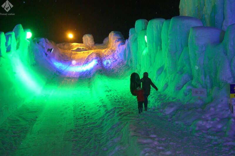 層雲峡温泉氷瀑まつり(イメージ)
