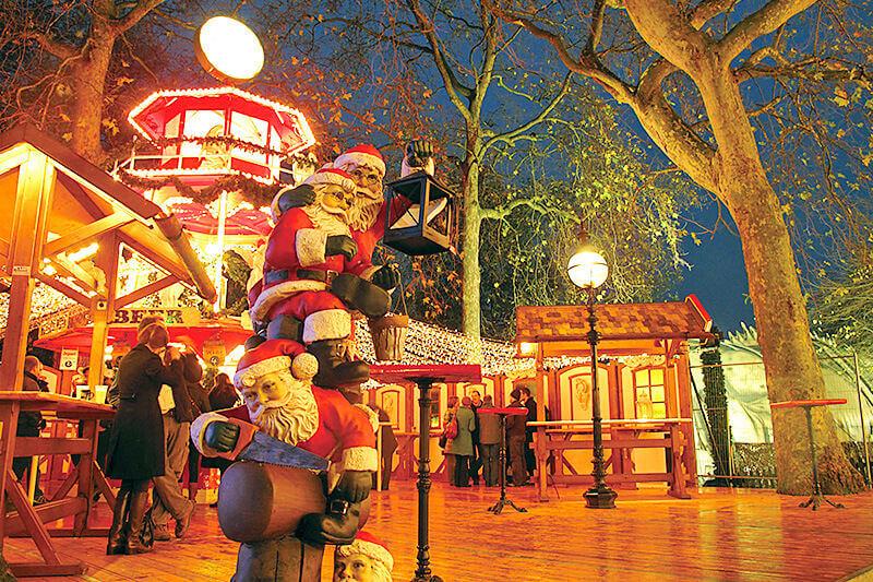 ロンドンに冬だけ現れる移動式巨大遊園地!今年も「ウィンターワンダーランド」がやってくる!