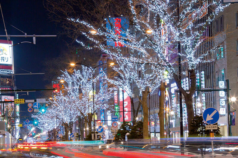 札幌の冬を彩る「さっぽろホワイトイルミネーション」!行く前に見どころをチェック!