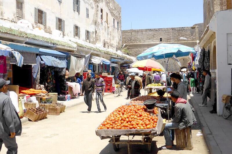 エッサウィラ 市場