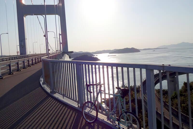 来島海峡大橋とサイクリング
