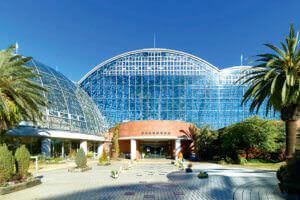 夢の島熱帯植物園 正面玄関