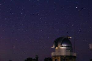 美星天文台と星空
