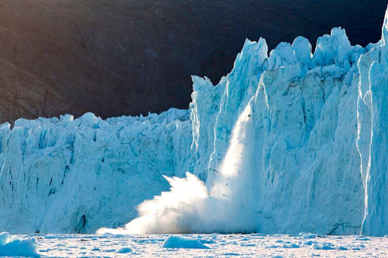 グリーンランド 氷河