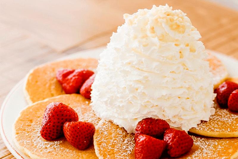三井アウトレットパークジャズドリーム長島 エッグスンシングス パンケーキ