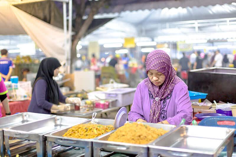 ブルネイ ガドゥンナイトマーケット