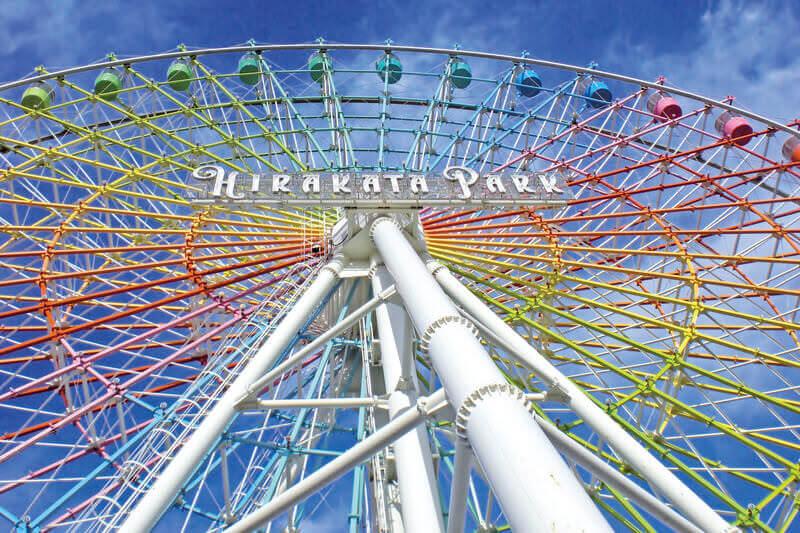 アトラクションもイベントも、昼から夜まで盛りだくさん!日本最古の遊園地「ひらかたパーク」が楽しすぎる!