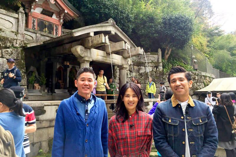 ガレッジセールと井森美幸が外国人観光客人気ナンバー1の世界遺産・清水寺へ!清水の舞台や音羽の滝に迫ります!
