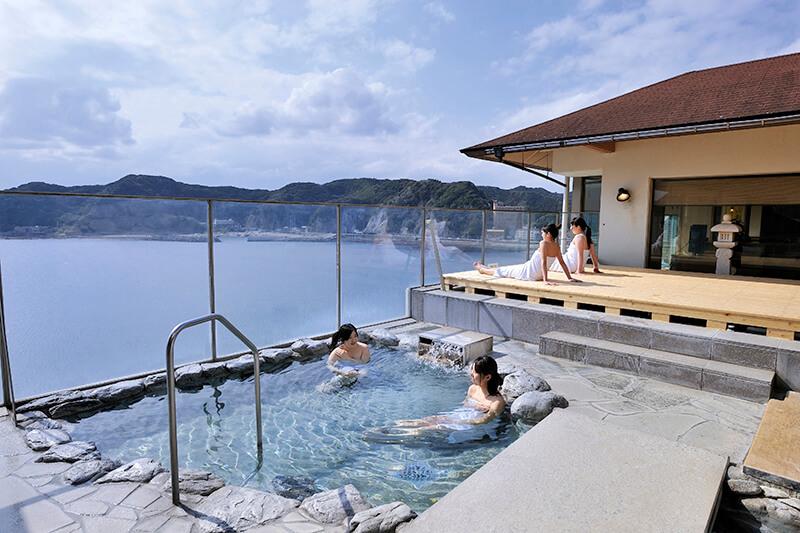 鴨川ホテル三日月 大浴場