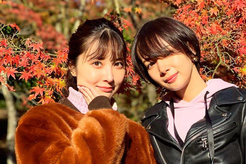 岡田紗佳と大石絵理が静岡県の伊豆熱川から修善寺、沼津へ。伊豆半島の美しい紅葉などを堪能!