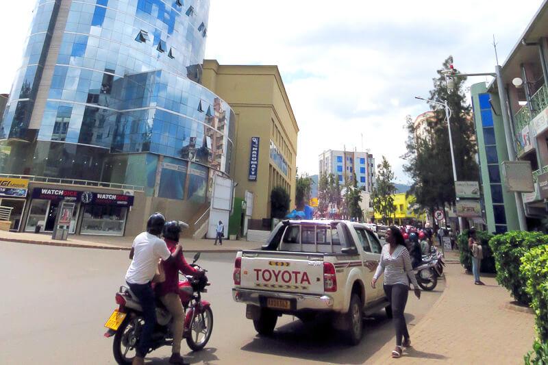 ルワンダの街並み