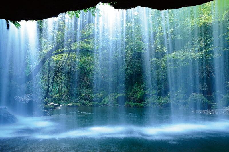熊本県小国町 鍋ヶ滝