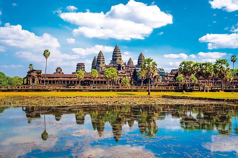 世界遺産のカンボジア「アンコールワット遺跡群」行くならベストシーズンの冬がオススメ!!
