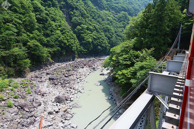 大井川鐵道 井川線「南アルプスあぷとライン」 臨場感あふれる車窓風景