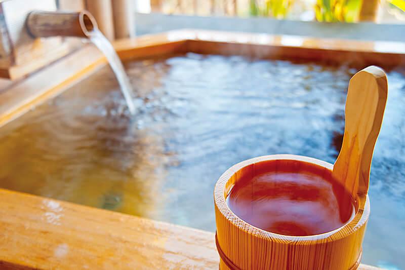 温泉 檜風呂 手桶/イメージ