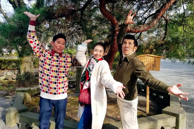 酒井美紀とガレッジセールが静岡県の三嶋大社へ!うなぎの意外な逸話&極上うなぎに舌鼓♪