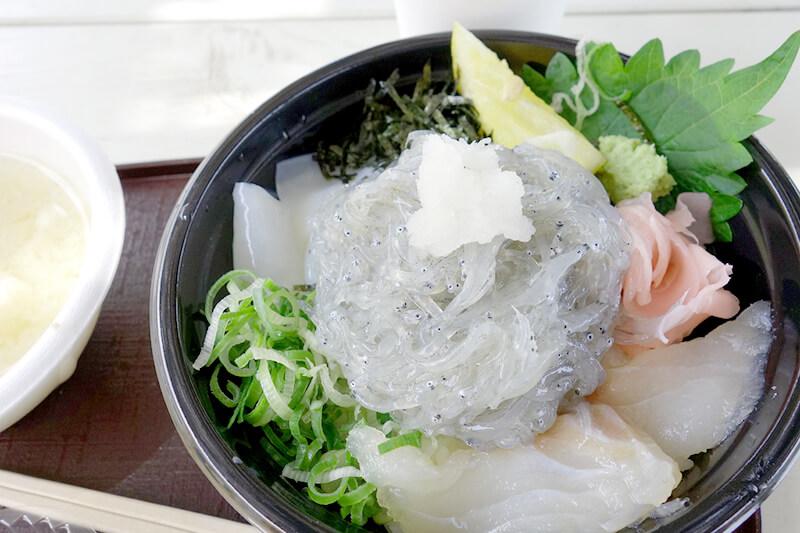 道の駅あわじ 海鮮丼