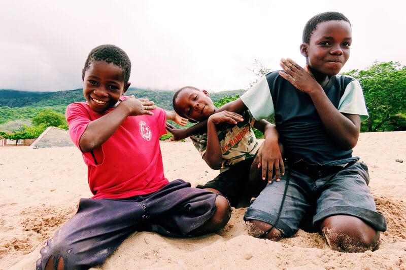 マラウイの人々
