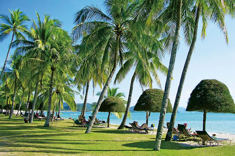 ランカウイ島 ビーチ