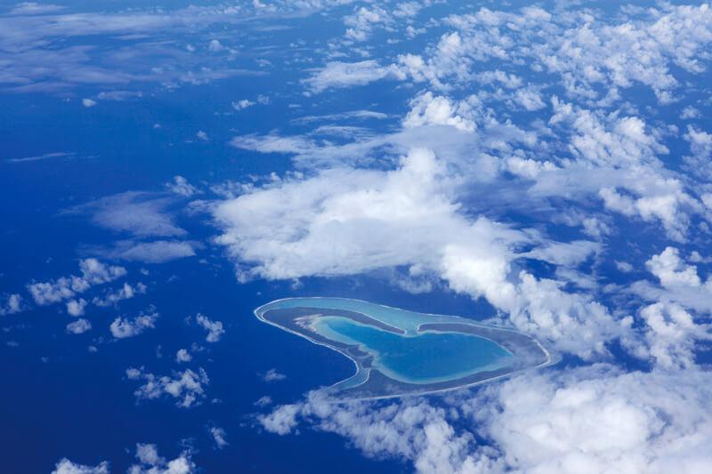 タヒチ ツパイ島