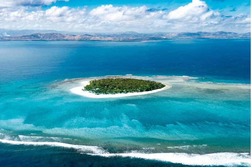 フィジー タバルア島