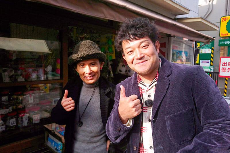 山口智充、片岡鶴太郎 ©関西テレビ